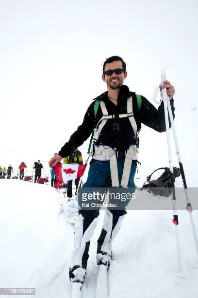 Laurent Belanger from Canada at Expedition Amundsen on March 7 2019 in Eidfjord Norway Expedition Amundsen is known as the world's hardest expedition...
