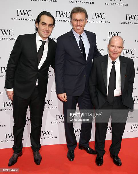 Laurent Blanc attends the IWC Schaffhausen Race Night event during the Salon International de la Haute Horlogerie 2013 at Palexpo on January 22 2013...
