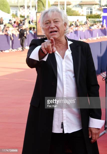 Laurent Boyer attends the Award Ceremony during the 45th Deauville American Film Festival on September 14 2019 in Deauville France