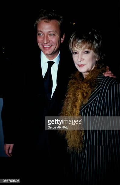Laurent Boyer et son épouse Alice Dona aux Victoires de la Musique le 11 mars 2000 à Paris France
