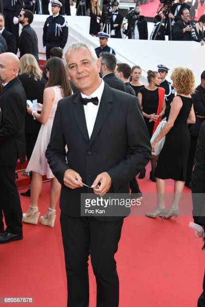 Laurent Cantet attends the Closing Ceremony during the 70th annual Cannes Film Festival at Palais des Festivals on May 28 2017 in Cannes France