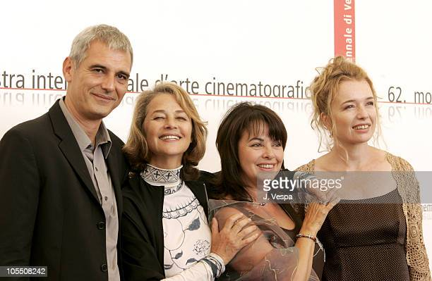 Laurent Cantet Charlotte Rampling Louise Portal and Karen Young
