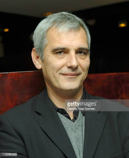 Laurent Cantet during RendezVous with French Cinema 2006 Press Lunch with Nathalie Baye at Josephina in New York New York United States