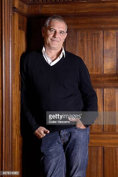 Laurent Cantet poses for a picture during the 41st Ghent International Film Festival on October 21 2014 in Ghent Belgium