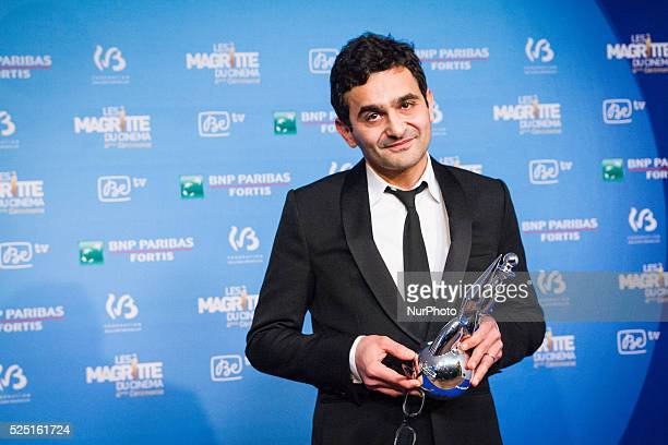 Laurent Capelluto winner for the best actor in a supporting role at the 4th Ceremony of the Magritte celebrating the best of the belgian movie...