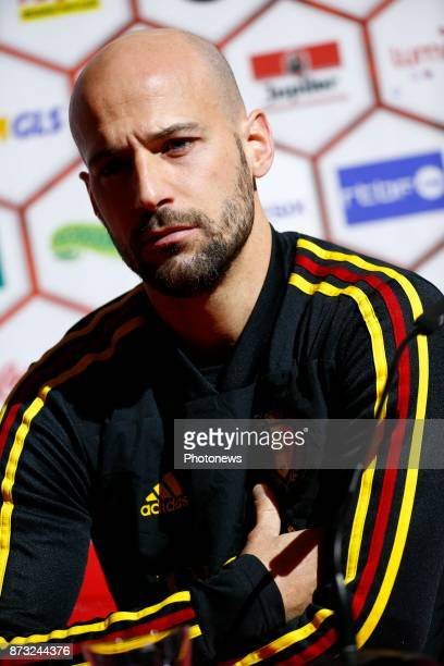Laurent Ciman defender of Belgium picture during the press conference and training session of the Red Devils at the national training center on...