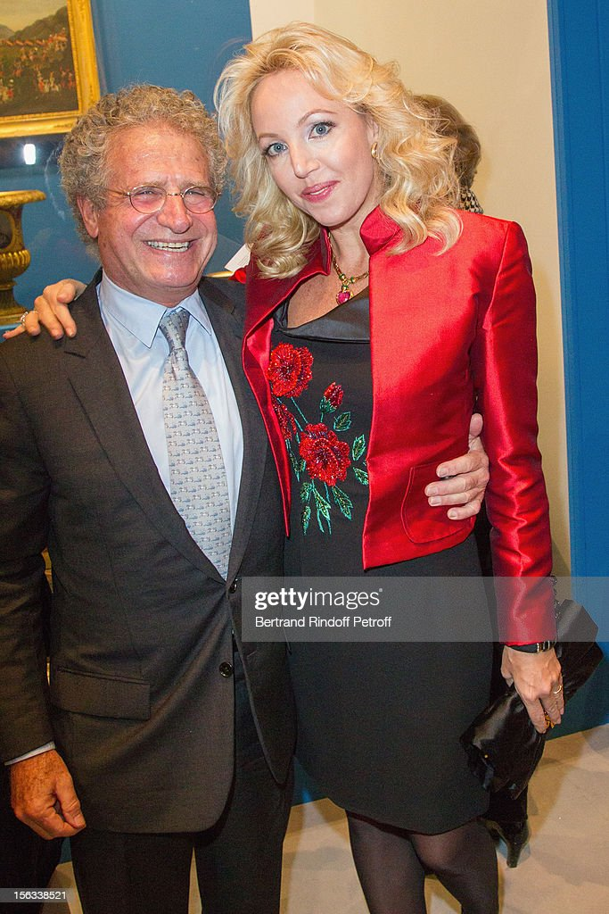 Laurent Dassault and Princess Camilla of Bourbon-Two Sicilies attend the Royal House of Bourbon-Two Sicilies Exhibition on November 13, 2012 in Paris, France.