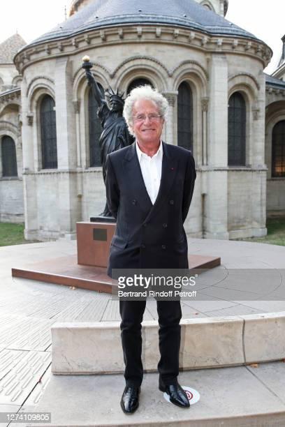 """Laurent Dassault attends the """"Il Medico Della Peste"""" Franck Sorbier Haute Couture Pieces Uniques AW 2020/21 Maitre d'art Collection : Screening &..."""