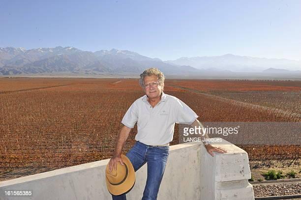 Laurent Dassault Wine Producer In Argentina Province de Mendoza Argentine 7 juin 2010 Laurent DASSAULT propriétaire avec Benjamin de Rothschild du...