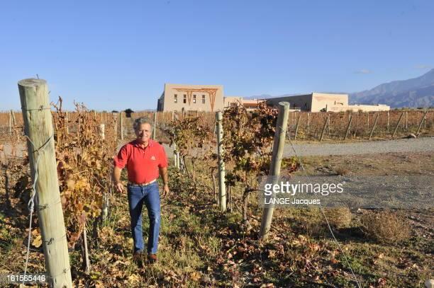 Laurent Dassault Wine Producer In Argentina Province de Mendoza Argentine 7 juin 2010 Laurent DASSAULT est le propriétaire avec Benjamin de...