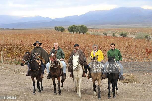 Laurent Dassault Wine Producer In Argentina Province de Mendoza Argentine 8 juin 2010 Laurent DASSAULT propriétaire avec Benjamin de Rothschild du...