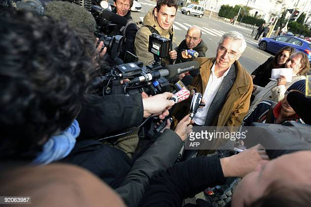 Laurent De Caunes lawyer of French Andre Bamberski the father of Kalinka Bamberski who died mysteriously at his home in Lindau in Germany while...