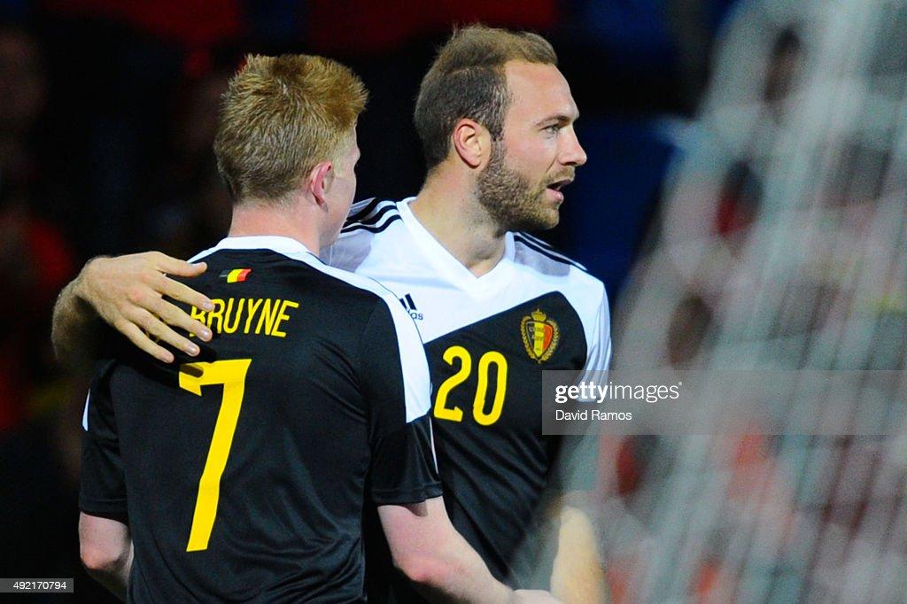 Andorra v Belgium - UEFA EURO 2016 Qualifier : News Photo