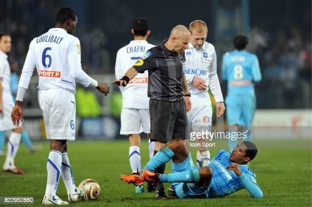BRANDAO / Laurent DUHAMEL Auxerre / Marseille 1/2 Finale Coupe de la Ligue