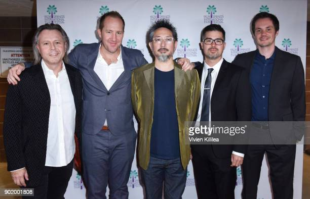 Laurent Eyquem O'Shea Read Tom Gorai Matt Sakatani Roe and ArndtWulf Peemoller attend the World Premiere of Nostalgia at the 29th Annual Palm Springs...