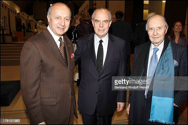 Laurent Fabius Frederic Mitterrand Comte Edouard De Ribes at The Private View Of The Exhibition Manet Inventor Of The Modern At Musee D'Orsay To...