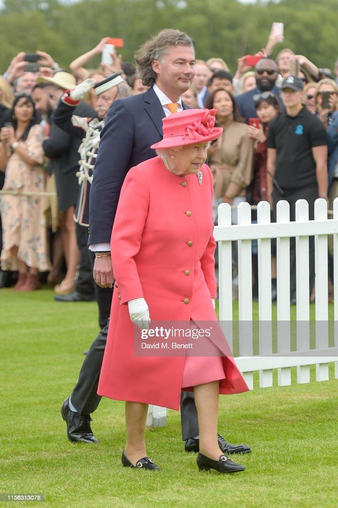 Cartier Queen's Cup Polo 2019 : News Photo