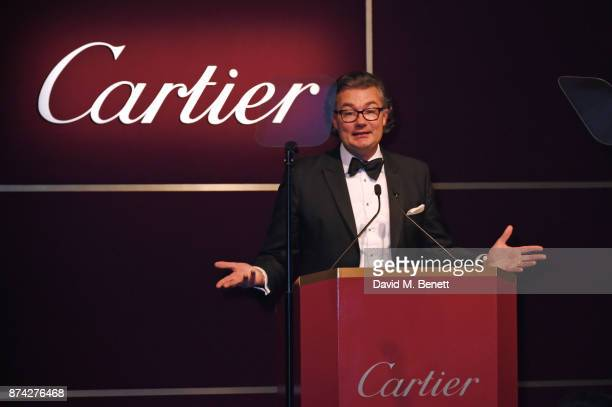 Laurent Feniou attends The Cartier Racing Awards 2017 at The Dorchester on November 14 2017 in London England