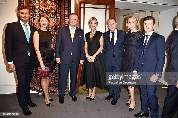 Laurent Feniou, Katia Neverova, Dr Alexander Yakovenko, Russian Ambassador to the United Kingdom of Great Britain and Northern Ireland, Corinna...
