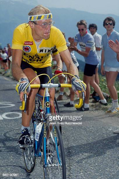 Laurent Fignon from France during the 1983 Tour de France.