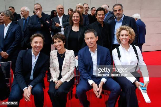 Laurent Gerra Agnes Bonfillon Stephane Bern Elizabeth Martichoux MarcOlivier Fogiel Alba Ventura CEO RTL Christopher Baldelli and the Team of RTL...