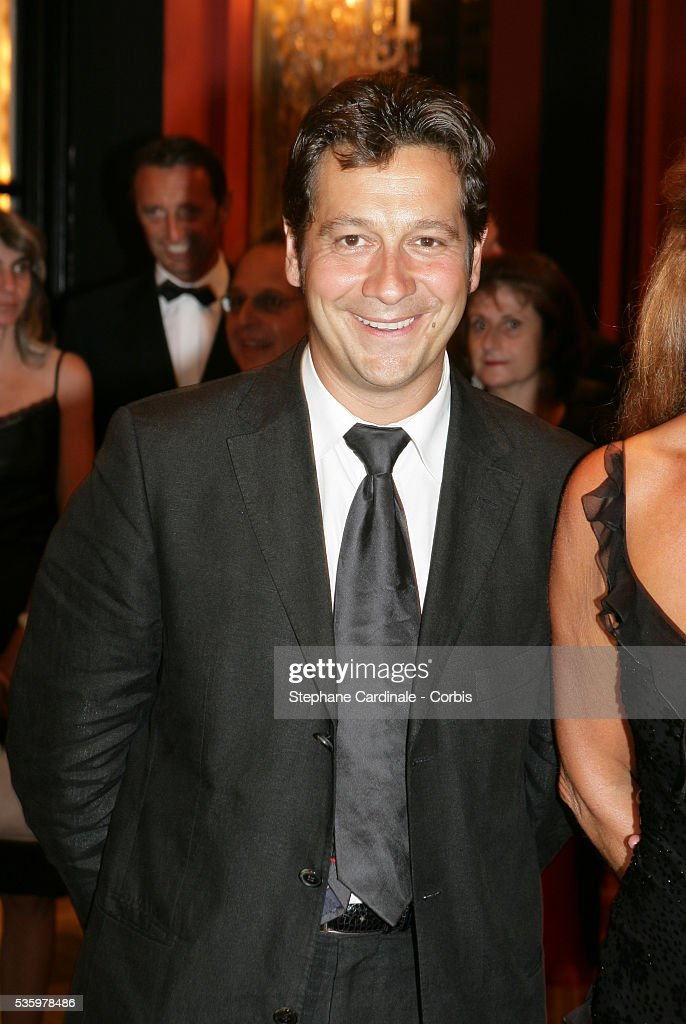 Laurent Gerra at the official opening dinner of the 31st American Deauville Film Festival.