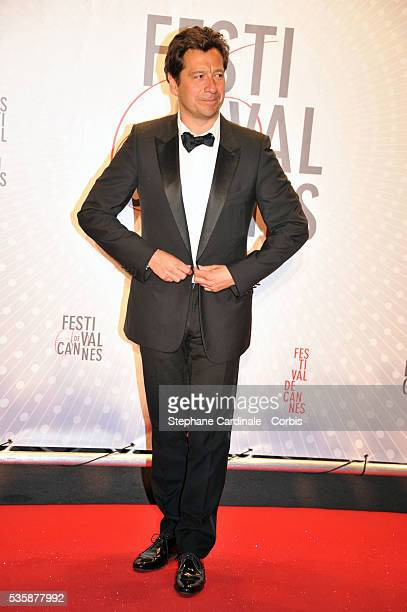Laurent Gerra attends the 'Palme D'Or Winners dinner' during the 66th Cannes International Film Festival