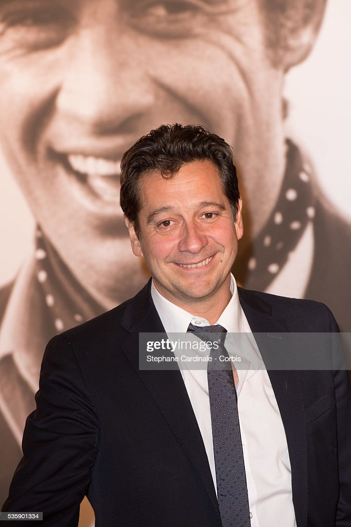Laurent Gerra attends the Tribute to Jean Paul Belmondo and Opening Ceremony of the Fifth Lumiere Film Festival, in Lyon.