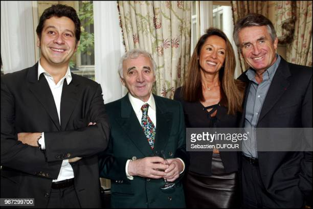 Laurent Gerra Charles Aznavour Nicole and Gilbert Coullier