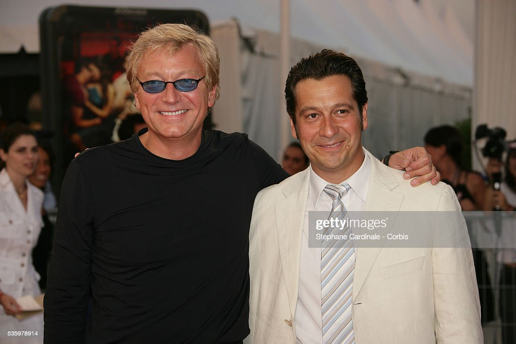 Laurent Gerra, Laurent Boyer arrive at the premiere of 'The Ice Harvest' during the 31st American Deauville Film Festival.