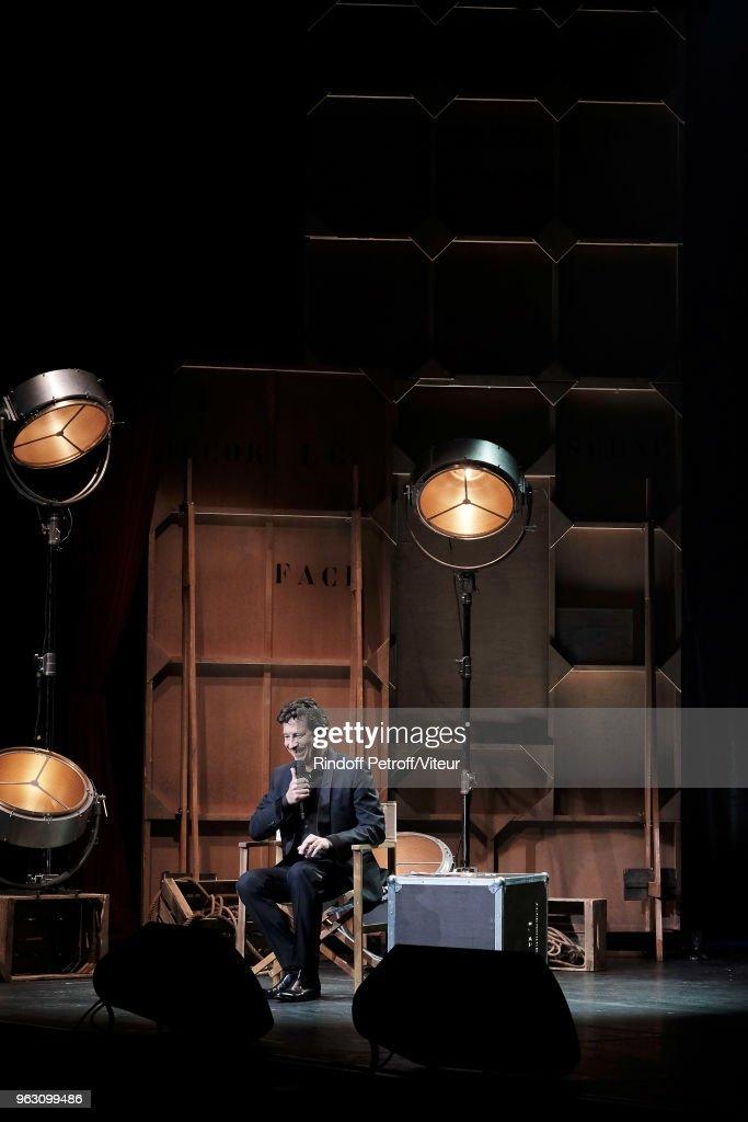 """""""Sans Moderation"""" : Laurent Gerra's One Man show At Casino De Paris"""