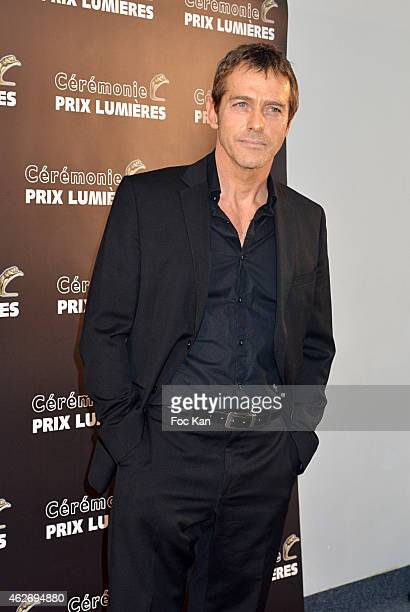 Laurent Hennequin attends 'Les Lumieres 2015' Arrivals At Espace Pierre Cardin on February 2 2015 in Paris France