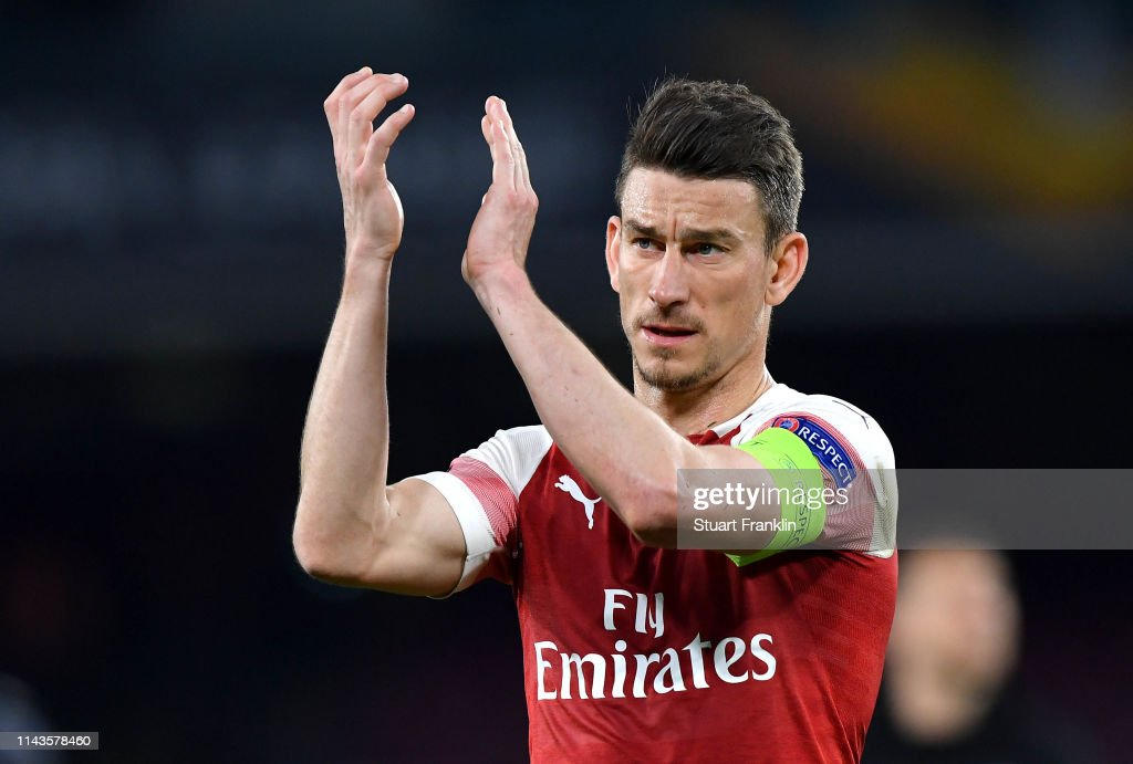 S.S.C. Napoli v Arsenal - UEFA Europa League Quarter Final : Second Leg : ニュース写真