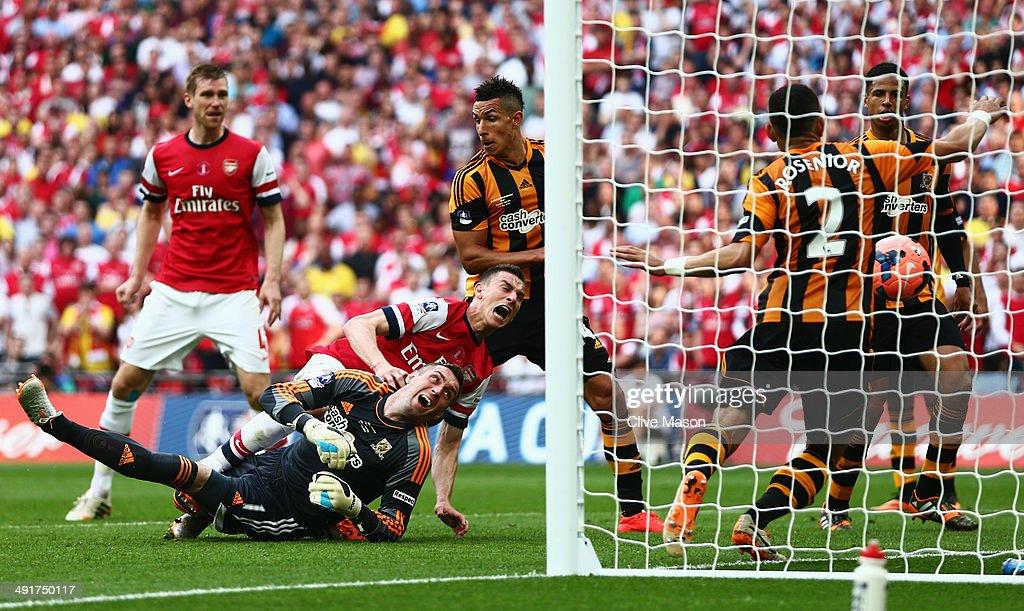 Arsenal v Hull City - FA Cup Final : News Photo
