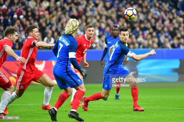 Laurent Koscielny of France during the international friendly match between France and Wales at Stade de France on November 10 2017 in Paris France