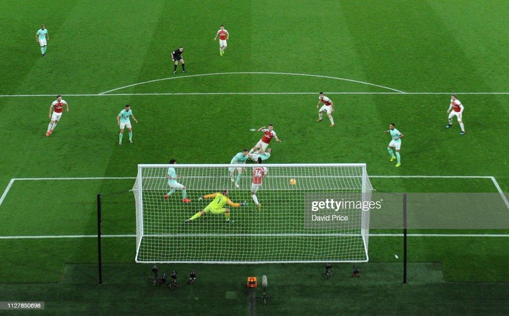 GBR: Arsenal FC v AFC Bournemouth - Premier League
