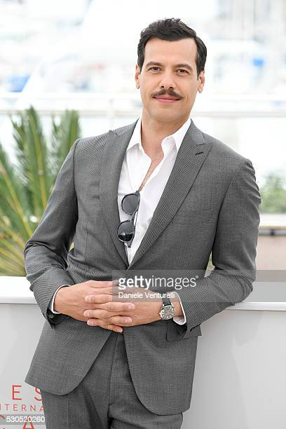 Laurent Lafitte attends a Photocall during The 69th Annual Cannes Film Festival on May 11 2016 in Cannes