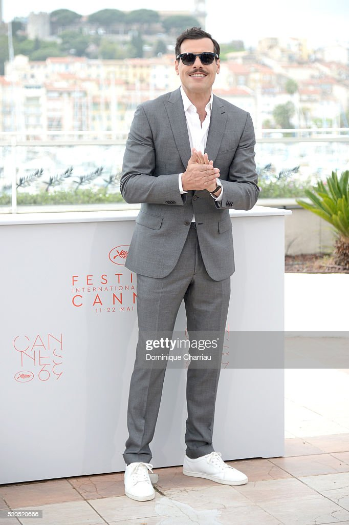 Laurent Lafitte Photocall - The 69th Annual Cannes Film Festival