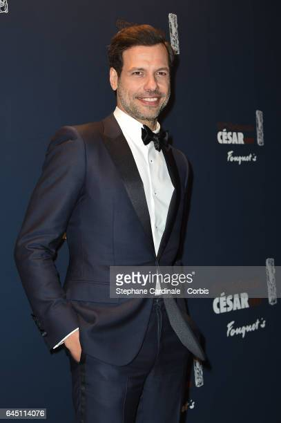 Laurent Lafitte attends the Cesar's Dinner at Le Fouquet's on February 24 2017 in Paris France