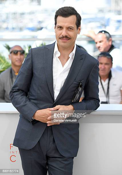 Laurent Lafitte attends the 'Elle' Photocall during the 69th annual Cannes Film Festival at the Palais des Festivals on May 21 2016 in Cannes France