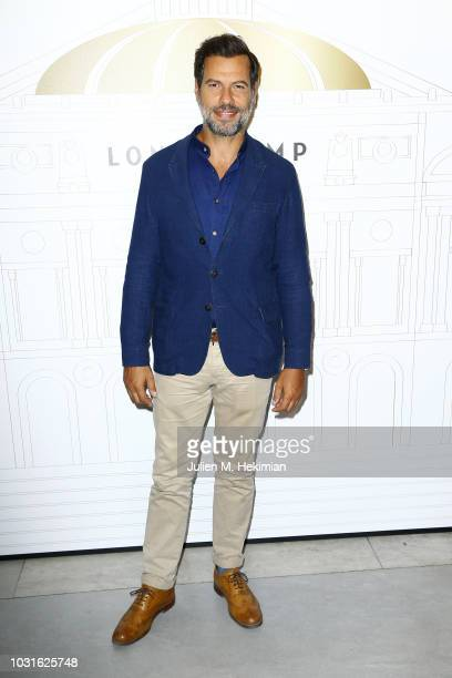 Laurent Lafitte attends the Longchamp 70th Anniversary Celebration at Opera Garnier on September 11 2018 in Paris France