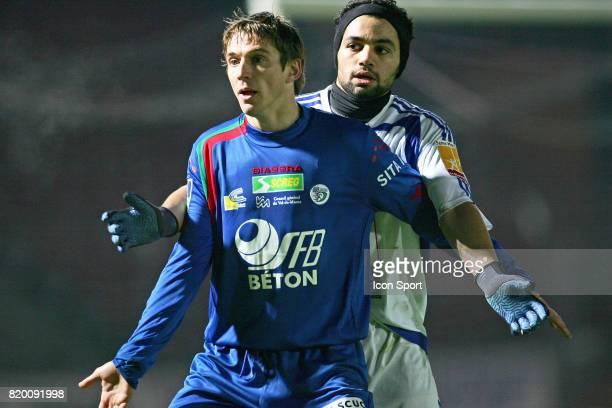 Laurent LEROY / Jamel AIT BEN IDIR Creteil / Le Havre 22eme Journee de Ligue 2