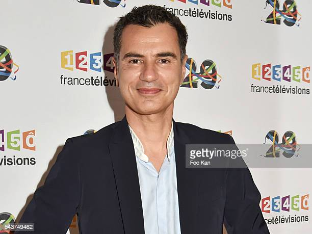 Laurent Luyat attends France Television presents its programs 2016-2017 at France Television studios on June 29, 2016 in Paris, France.
