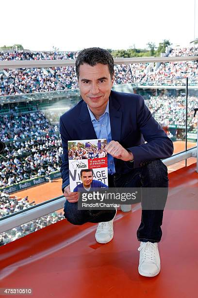 Laurent Luyat attends the French Tennis Open 2015 at Roland Garros on May 30, 2015 in Paris, France.