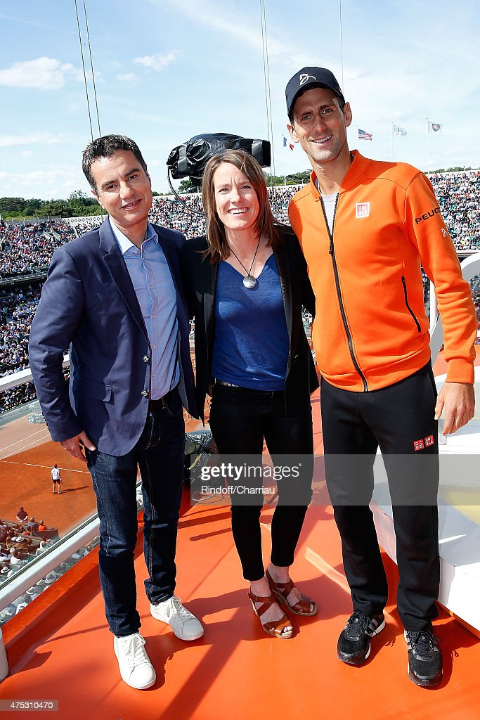 Celebrities At French Open 2015  - Day Seven : News Photo