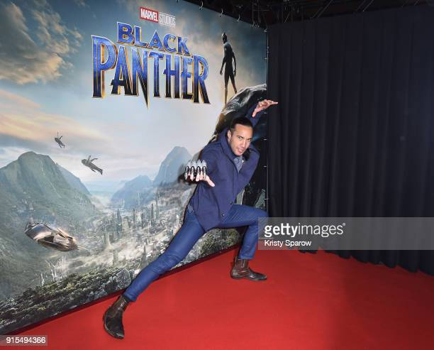 Laurent Maistret attends the 'Black Panther' Paris Special Screening at Le Grand Rex on February 7 2018 in Paris France