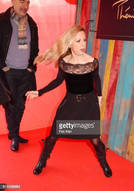 Laurent Naouri and his wife Nathalie Dessay attend 39th Festival Mondial Du Cirque de Demain Awards Ceremony At Cirque Phenix on February 4 2018 in...