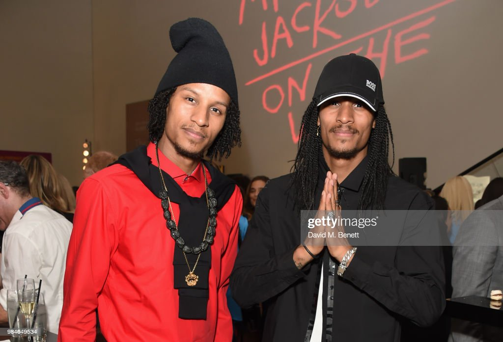 Private View Of 'Michael Jackson: On The Wall' Exhibition Sponsored By HUGO BOSS : News Photo