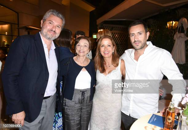 Laurent Ohana Barbara Cohn Karine Ohana and Michael Azoulay attend Ohana Co LA Event Brands With Mission at The Peninsula Beverly Hills on August 23...
