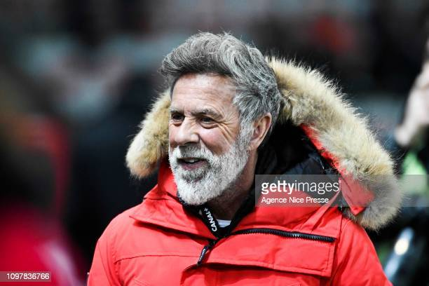 Laurent Paganelli former player during the Ligue 1 match between Nice and Lyon at Allianz Riviera on February 10 2019 in Nice France